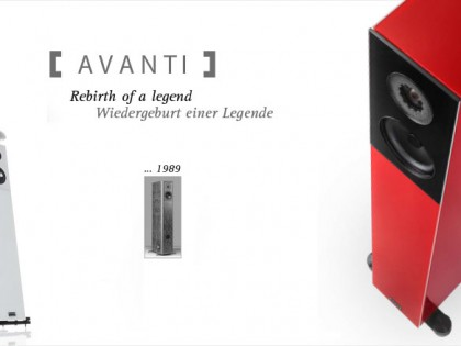 Endlich eingetroffen: Audio Physic Avanti