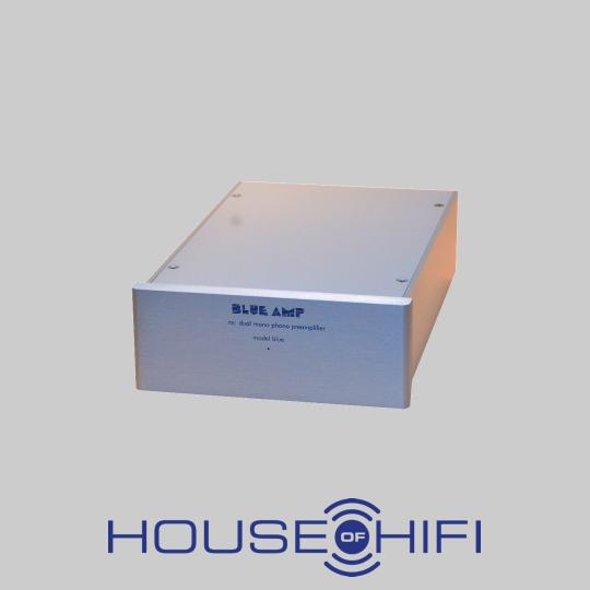 Blue AMP mit Logo